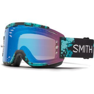 Smith Squad MTB inkl. Wechselscheibe, opal unexpected/Lens: contrast rose flash - MX Brille