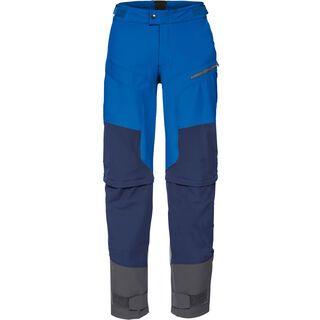 Vaude Men's Morzine ZO Pants II, hydro blue - Radhose