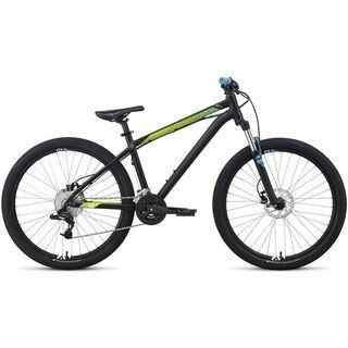 Specialized P.Street 2 2014, Black/Hyper Green/Cyan - Mountainbike