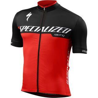 Specialized RBX Comp Jersey SS, red/black team - Radtrikot
