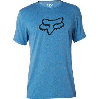 Fox Tournament SS Tech Tee, blue - Radtrikot