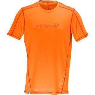 Norrona /29 tech T-Shirt (M), pure orange - Radtrikot