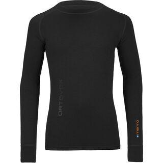Ortovox Merino 240 Long Sleeve, black raven - Funktionsshirt