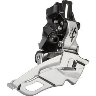 Shimano Deore XT FD-M781 3x10 Down Swing - Direct-Mount, Top-Pull, silber - Umwerfer