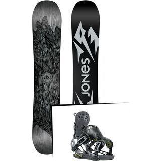 Set: Jones Ultra Mountain Twin 2019 + Flow NX2-GT (1908418S)