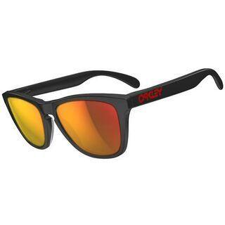 Oakley Frogskins LX, Matte Black/Ruby Iridium - Sonnenbrille