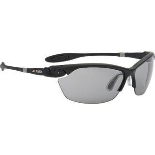 Alpina Twist Three 2.0 VL, black matt/Lens: varioflex black - Sportbrille