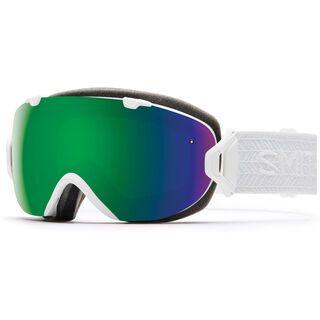 Smith I/Os inkl. Wechselscheibe, eclipse white/Lens: chromapop sun - Skibrille