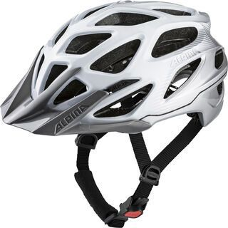 Alpina Mythos 3.0, white silver - Fahrradhelm