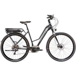 Cannondale Mavaro Womens Headshok Performance 2015, charcoal grey - E-Bike