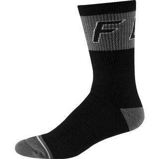 "Fox 8"" Winter Wool Socks black"