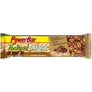 PowerBar Natural Energy Cereal (Vegan) - Cacao Crunch - Energieriegel