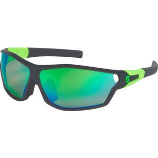 Scott Leap Full Frame, black matt/green chrome - Sonnenbrille