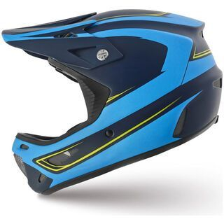 Specialized Dissident Comp, Navy/Neon Blue Signal - Fahrradhelm