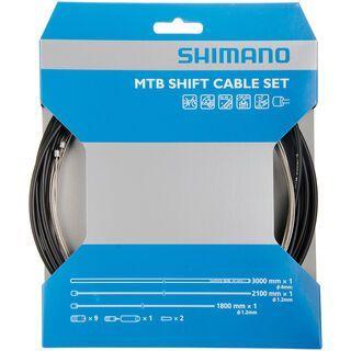 Shimano MTB Edelstahl schwarz