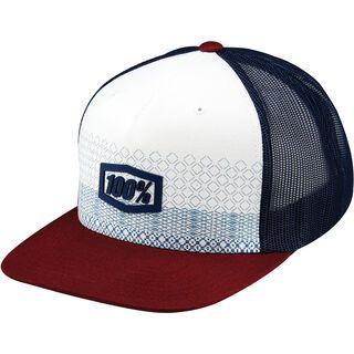 100% Rollins Snapback Hat, burgundy - Cap