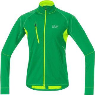 Gore Bike Wear Fusion Thermo Trikot, fresh green/neon yellow - Radtrikot