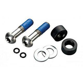 Avid Disc Adapter Standard 10 mm Postmount für 170 mm Rotor, vorn, Titanschrauben, schwarz