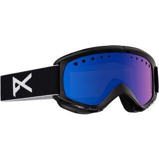Anon Helix + Spare Lens, black/blue solex - Skibrille