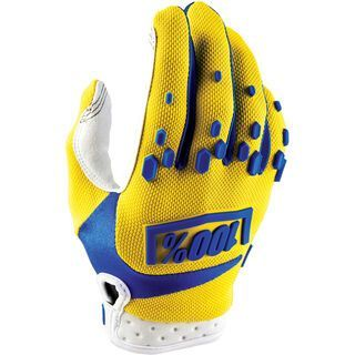 100% Airmatic Youth Glove, yellow - Fahrradhandschuhe