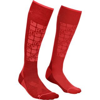 Ortovox Merino Ski Compression Socks W dark blood