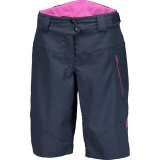 Scott Trail 20 LS/Fit w/Pad Women's Shorts, dark blue/orchid violet - Radhose