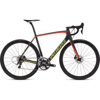 Specialized Tarmac Expert Disc Race 2016, carbon/red/hyper - Rennrad