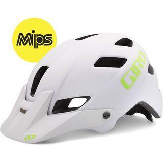 Giro Feature MIPS, matte white lime - Fahrradhelm