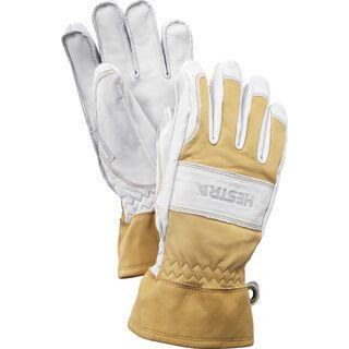 Hestra Fält Guide Glove 5 Finger, naturgelb/cremefarbig - Skihandschuhe