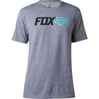 Fox Obsessed SS Tech Tee, heather graphite - Radtrikot