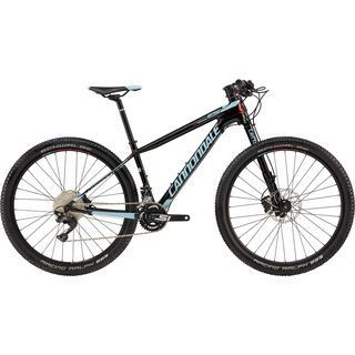 Cannondale F-Si Carbon Women's 2 2017, black/red/atmos blue - Mountainbike