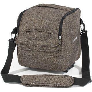 Racktime Qube-it, urban brown - Gepäckträgertasche