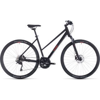 Cube Nature EXC Trapeze 2020, black´n´red - Fitnessbike