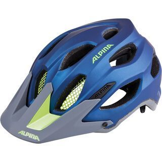 Alpina Carapax, darkblue-neon - Fahrradhelm