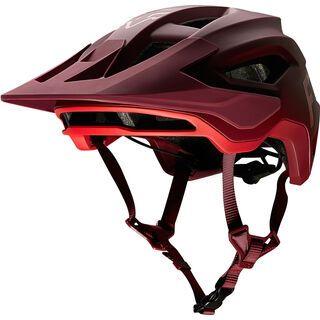Fox Speedframe Helmet wurd chili