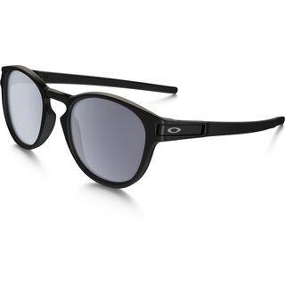 Oakley Latch, matte black/Lens: grey - Sonnenbrille