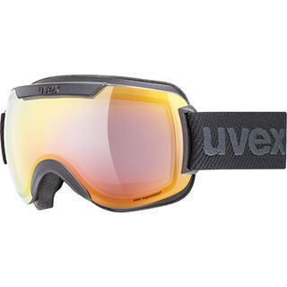 uvex downhill 2000 FM, black mat/Lens: mirror rainbow - Skibrille
