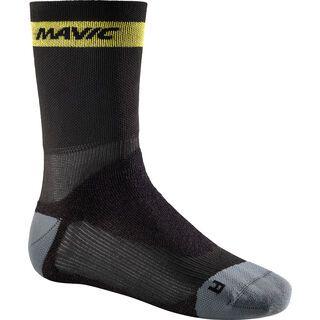 Mavic Ksyrium Pro Thermo+ Sock, black / dark cloud - Radsocken
