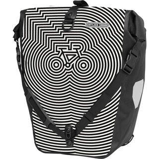 Ortlieb Back-Roller Design Cycledelic, white-black - Fahrradtasche