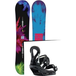 Set: Burton Social 2015 +  Stiletto (1191380S)