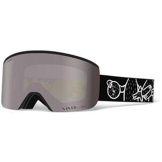 Giro Axis Lucas Beaufort inkl. WS, Lens: vivid onyx - Skibrille