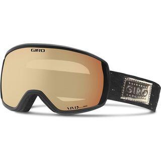 Giro Facet, black gold/Lens: vivid copper - Skibrille