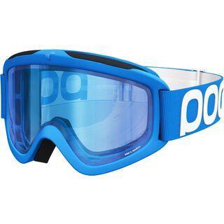POC Iris X, terbium blue/Lens: bronze blue mirror - Skibrille