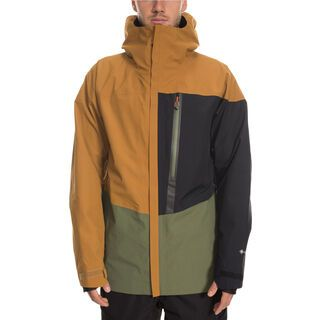 686 GLCR Gore-Tex GT Jacket golden brown colorblock