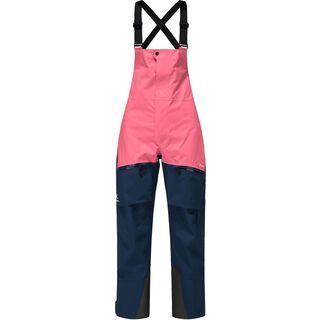 Haglöfs Vassi GTX Pro Pant Women, tarn blue/tulip pink - Skihose