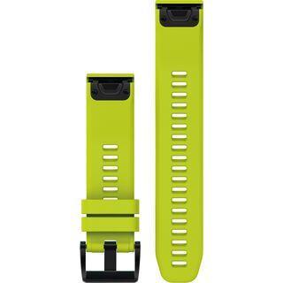 Garmin QuickFit Armband Silikon, gelb - Zubehör