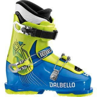 ***2. Wahl*** Dalbello CX 3.0 Junior 2019, blue/apple - Skiboots