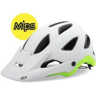 Giro Montaro MIPS, white/lime - Fahrradhelm