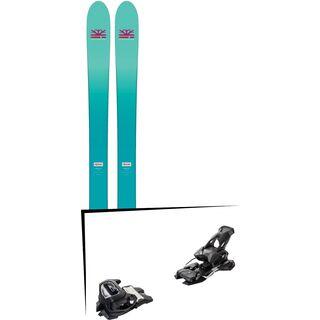 Set: DPS Skis Nina F99 Foundation 2018 + Tyrolia Attack² 14 AT solid black