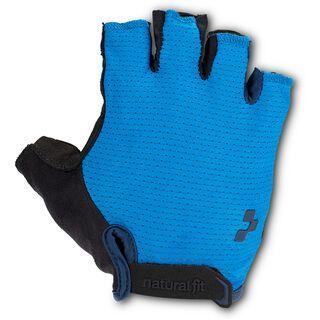 Cube Handschuhe Kurzfinger X Natural Fit blue´n´black